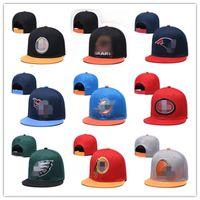 2021 Мода Баскетбол Snapback Бейсбол Snapbacks Все Команда Футбол Освещенные Шляпы Женские Мужские Плоские Крышки Хип-Хоп Крышка Спортивная Шляпа