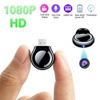 مصغرة كاميرات كاملة HD 1080P كاميرات الفيديو USB يو القرص كاميرا صغيرة حلقة تسجيل صوت صوت مسجل مايكرو كام dv dvr الأمن