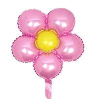 꽃 호 일 풍선 잎 꽃 baloon 생일 파티 웨딩 장식 파티 소중한 globos 아기 샤워 여자 아이들 장난감 DDA5465