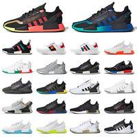adidas NMD R1 V2 Boost Aqua Tones Gradient Neon atmos Bee Oreo japan Dazzle Camo الرجال النساء   احذية الجري   احذية رياضية رياضية   أحذية