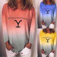 티셔츠 여성의 중간 길이 테이퍼 라운드 넥 캐주얼 인쇄 티셔츠 폴로스 루즈 탑 레깅스와 드레스에 적합