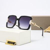 Top luxury Sunglasses polaroid lens designer womens Mens Goggle senior Eyewear For Women eyeglasses frame Vintage Metal Sun Glasses With Box 1152