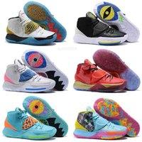 도착 Kyrie 황금 미라 스 니 커 즈 판매 Irving 6 개념 어린이 남자 스포츠 신발