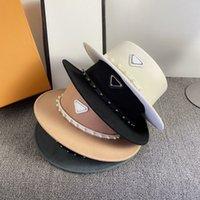 أعلى قبعة كاب المرأة رجل المجهزة الفاخرة المثلث إلكتروني p قبعات مصمم قبعة قبعة الأزياء تركيب القبعات casquette دلو دلو قبعة D208302HL