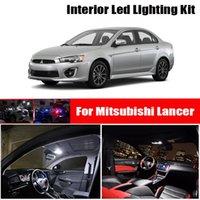 8x Canbus Hatası Ücretsiz LED İç Işık Kiti Paketi 2002-2021 Mitsubishi Lancer 7 8 Araba Aksesuarları Haritası Dome Trunk Lisansı Acil Lig