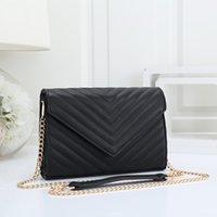 Mulheres luxurys designers sacos 2021 senhoras simples mini um ombro mensageiro pequeno saco quadrado elegante cadeia de hardware dourado fivela cinco cores
