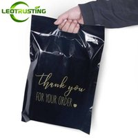 Gift Wrap General Use Thanks Poly Mailer Adhesive Envelopes Bag Black White Courier Dress T-shirt Trousers Sweater Shoes Portable Pouches