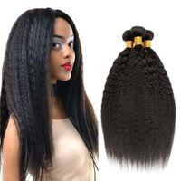 12A 처리되지 않은 도매 킨키 스트레이트 브라질 버진 인간의 머리 공급 업체 흑인 여성용 자연 색 1B