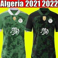 Fans Player Version Special Algerien 2021 2022 Home Away Fußballtrikots MAHREZ FEGHOULI BENNACER ATAL 21 22 Algerien Fußballtrikots Trikot Herren + Kinder Sets maillot de foot