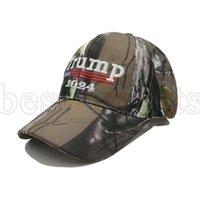 도널드 트럼프 2024 야구 모자 위장 미국 대통령 선거 모자 조정 가능한 야외 스포츠 카모 트럼프 모자 Cyz3143