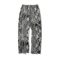 남성 패턴 빈티지 패션 streetwear 느슨한 캐주얼 스트레이트 바지 남성 인쇄 바지 조깅 여자를위한 스웨트 팬츠