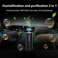 HEPA 필터와 진공 청소기 공기 청정기 신선한 음이온 자동차 적외선 센서 홈 오피스