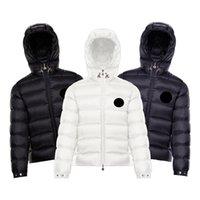 [code:OCTEU15] Designer Herren Mit Kapuze Jacke Frankreich Marke Monclair Gestrickte Frauen Parkas Panel Casual Coats Luxus Bomber Jacken Männer Kleidung
