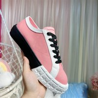 2021 Classic Haute Quality Sold Sports Sports Chaussures Dames Fabric Tissu Tissu Casual Shoelace Box 6 Styles Taille US4-9