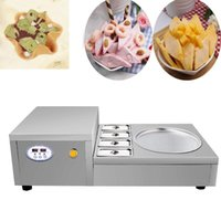 Ice Cream Making Machine Small Fried Roll Home Use Stainless Stell Pan Machinery