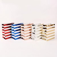 Gift Wrap 10PCS Paper Bags Packaging Wedding Gifts For Guests Bag Baby Shower Party Decoration Candy Sweets Present Boxes Tote