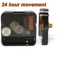 24-часовое движение DIY кварцевый механизм Классические часы ремонта двигателя частей домашнего декора часы круглый часовой инструмент