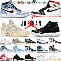 Chaussures de basket-ball pour hommes 4 4s Taupe Haze Blanc Oreo Black Cat University Blue Sports Sneakers 6 6s British Khaki 13 13s Flint Grey Jumpman Baskets pour femmes