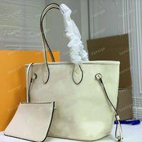 MM Totes das mulheres com bolsa carteira de couro de couro bolsa bolsa de compras bolsa de embreagem bolsa de ombro Pallas M45685 32 cm