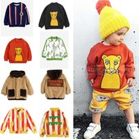 Baby Kids Clothing Sets Mini Winter Boys Clothes Jackets Sweatshirt Pants POP Sun T Shirts Girls Coat Cotton Outwear Tops A3806