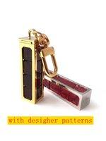 Zar Ayrılabilir Anahtarlıklar Mektubu Yüksek Kaliteli Metal El Yapımı Unisex Tasarımcı Anahtarlık Erkekler Kadınlar Kolye Desen Araba Anahtarlık Takı Aksesuarları Kutusu Ile