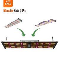 Grow Lights Geek Light 240W Monster Board Pro Hydroponic LED Bar LM301H LM301B Chips UV IR Xecuter Switch Mod HortiBerloom