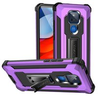 For Moto G Play 2021 Phone Cases Heavy Duty Shockproof Protection Cover Metal Holder case