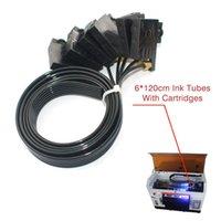 Drucker UV-Flachbett-Druckerteile 6 * 120cm Tintenröhrchen mit Kartuschen für R330 R290 T50 L800 1390