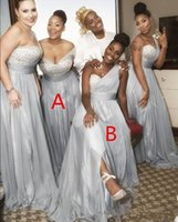 Árabe um ombro dama de honra vestidos frisado lantejoulas sexy modest júnior doméstica de honra vestido noiva vestido de festa de casamento