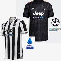2021 2022 유벤투스 축구 유니폼 21/22 Ronaldo Chiesa Dybala McKennie Morata 남자 축구 셔츠 남자 키트 Maillot Camiseta Futbol