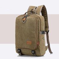 Backpack Vintage Men Women Canvas Backpacks School Bags For Teenagers Boys Girls Large Capacity Laptop Fashion