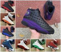 Top Calidad 13 Hombres Zapatillas de baloncesto 13s Gym Red Flint Grey Starfish Blanco Lucky Green Jordán Corte Purple Hombres El juego Cred Chicago Playground Designer Sports Shoe