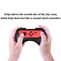Game Controllers & Joysticks Protective Bracket Holder Handle Skin Case Handgrip For N-Switch Joy-Con Controller Protector Water Cover Grip