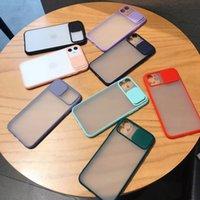 Cas de mode Matte Clear Phone Case Transparent Lentille Dissipe antichoc protecteur de couverture arrière pour iPhone 12 Mini Pro Max X XS XS