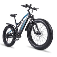 ShengMilo MX03 Elektrikli 1000 W Dağ Bisikleti 48 V Yetişkin Yağ Lastik Bisiklet 40 KM / H E-Bike City Moped