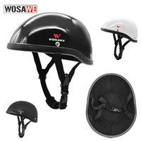 Motorcycle Helmets WOSAWE Adjustable Round Mountain Bike Motocross Helmet Baseball Cap Men Sport Safety Cycling Road Bicycle Moto