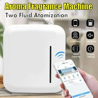 Air Purifiers Lntelligent Aroma Fragrance Machine 300m3 Scent Unit Essential Oil Diffuser 150ml Timer APP Control For Home El Office