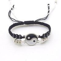 Bracelets Charm Braclets Tai Ji Rail Bractelet 2021 ручной работы Yin Yang Feng Shui Ювелирные изделия для мужчин и женщин YP7735