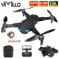 Vimillo F188 GPS DRONE 4K Professionelle Kamera DRON AERIAL POPYPOGY BUBENLOSER Motor Faltbarer Quadcopter RC-Entfernung 1000m Drohnen