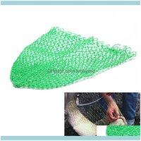 ولديسيس الرياضة في الهواء الطلق1pcs سماوي خط النايلون الأسماك 24 سهم في أو صغيرة الصيد تراجع صافي رأس إسقاط التسليم 2021 UGCPC