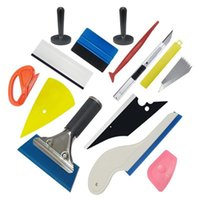 Car Vinyl Wrap Tool Carbon Foil Glass Film Window Tint Squeegee Scraper Kit Sticker Cutter Auto Styling Accessories Washer