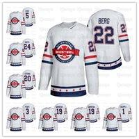 Customized USA Team Weiß 2021 Biosteel All-American Game Hockey Jersey Remington Keople Daniel Laatsch Jack Peer Cooper Wylie Ryan Ufko Shai Buium M