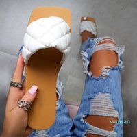 Sandali piatti delle donne avanzate Scarpe in gomma scarpe in pelle Slifts Moda Plus Size Stile estivo