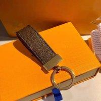 2022 Männer Frauen Geschenke Top Qualität Maxi Dragon Schlüsselanhänger und Geschenkbox Handgemachte Leder Designer Schnalle Liebhaber Auto Keychain Tasche Anhänger Zubehör Stil 18 Farbe