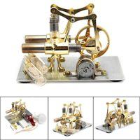 Balance Stirling-Motor Miniaturmodell Dampfleistung Technologie Wissenschaftliche Generation Experimentelle Spielzeug 210417