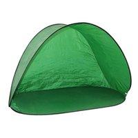 텐트 및 쉼터 해변 낚시 텐트 던지기 UV 썬 블록 방수 내구성 휴대용 자동 관광 캠핑 액세서리