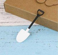 Sorvete Tools Ferramentas Mini Phovel Colher Plástico Bolo Construção Beach Party Partido Descartável Pilhas Papelicle SN3002 BAJW