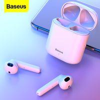 Baseus W09 TWS لاسلكي بلوتوث سماعة الأذن برعم بلوتوث 5.0 سماعة رأس لاسلكية لاسلكية سماعة آيفون 12 برو xiaomi