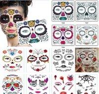Другое событие одноразовые тени для век Magic Eye Beauty Face Face Водонепроницаемая временная татуировка наклейка для макияжа на сцене Хэллоуин Party Saceates 0 AU7PP