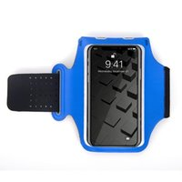 Outdoor Bags Phone Pouch Hiking Elastic Cycling Gym Exercise Sports Running Armband Anti Slip Holder Workout Jogging Side Pocket Fitness